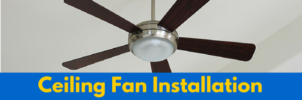 Ceiling fan installation jb electrical services ceiling fan installation aloadofball Choice Image