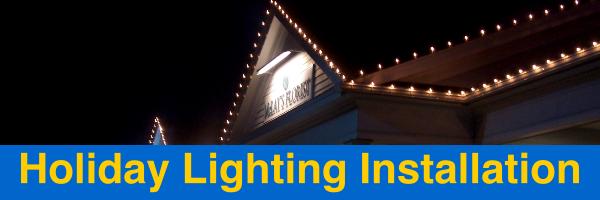 Holiday Lighting Installation Arlington Tx J Amp B